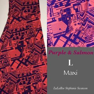 Gorgeous slinky LuLaRoe Maxi Skirt. NWT.